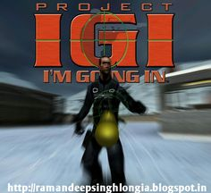 project igi 1 highly compressed PC game