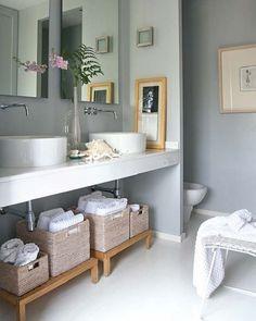 caixas para organizar banheiro
