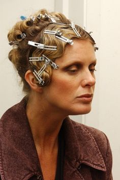 how to get pin curls