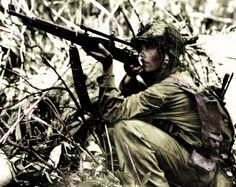 US Marine Sniper
