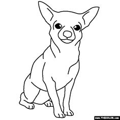 Chiwawa Coloring Pages