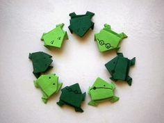 How to make simple Origami Frogs      Are you still looking for simple and easy origami
