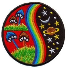 Patch écusson patche Sun Rebel Doctor Rossi thermocollant brodé badge