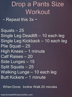 Drop a pant size circuit workout. Forget the walk - do the carrie underwood sequence: