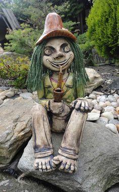 Underwater, Garden Sculpture, Creatures, Pottery, Outdoor Decor, Faces, Inspiration, Sculptures, Flowers