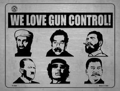 We Love Gun Control - Dictators Metal Novelty Parking Sign. Smart Blonde is the manufacturer and distributor of over novelty License Plate tags, signs key chains, magnets, and License Plate Tag frames. Love Gun, Parking Signs, Gun Control, Our Love, 2nd Amendment, Metal, Creative, Link, Board