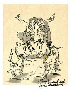 Masuo's Disney Movie Sketches