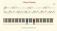"How To Play Piano: Abba ""I Have A Dream"" Piano Tutorial by Ramin Yousefi - YouTube"