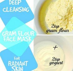 Top 3 Gram Flour Face Mask Recipes for Beautiful Skin #FaceMaskProducts #TumericFaceMaskForWrinkles #AntiAgingMask Yogurt Face Mask, Avocado Face Mask, Honey Face Mask, Cucumber Mask, Witch Hazel Face, Chocolate Face Mask, Face Mask For Blackheads, Charcoal Face Mask, Coconut Oil For Face