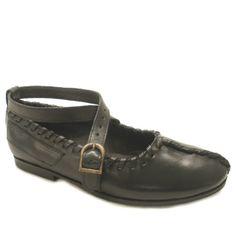 Calusari sandals, dances, black
