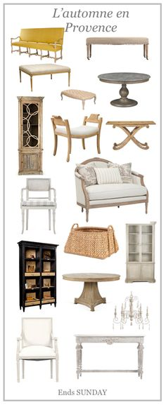 Brand new french living sale - awesome.