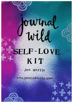 Free downloadable and printable self love kit. Full of self-love journaling prompts to get you celebrating yourself. Plus free printable affirmations and journaling cards inside.