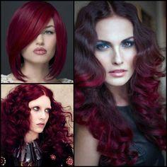 Hair Color Inspiration and Formulation: Magenta