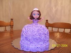 Sofia the First cake for my granddaughter Sophia's 3rd birthday!