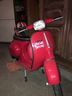 My Vespa for going to work