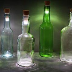 Suck UK LED-Flaschenlicht Skylight-Bottle online kaufen ➜ Bestellen Sie LED-Flaschenlicht Skylight-Bottle für nur 14,95€ im design3000.de Online Shop - versandkostenfreie Lieferung ab 50€!