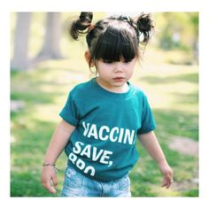Vaccines Save, Bro tee from Wire and Honey. www.wireandhoney.com