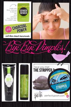 Favorite pimple fighting Posh Products! www.perfectlyposh.com/laurag