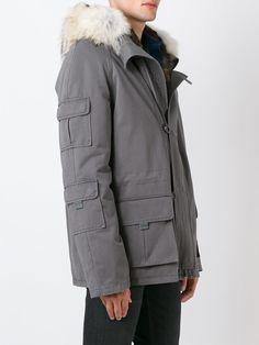 #yvessalomon #men #fur #parka #grey #jacket #winter #style www.jofre.eu