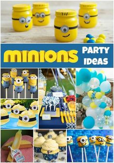 How To Host A Minions Party | A fantastic Gender Neutral Party Idea.