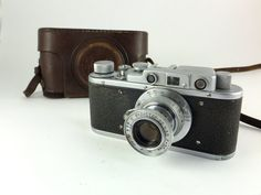 Zorki 1 Type 1c Vintage Russian Rangefinder Camera by ContesDeFees