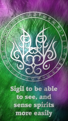 Anonymous said: A sigil to be able to see/sense spirits more easily? Answer: sigil to be able to see, and sense spirits more easily Here you go my friend. Wicca Witchcraft, Magick, Magic Symbols, Psy Art, Astral Projection, White Magic, Magic Spells, Book Of Shadows, Signs