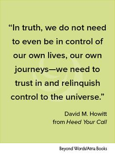 Taken from HEED YOUR CALL by David M. Howitt.