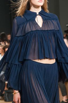 Chloé at Paris Fashion Week Spring 2015.
