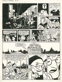 Yves Chaland - Spirou & Fantasio - Coeur d'acier 1986