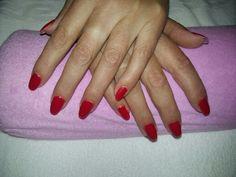 Uñas de gel con tips h esmaltado semipermanente  #nails #nailsart
