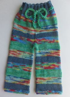 Hand Knitted Wool Longies Wool Diaper Cover by CraftingRainbows