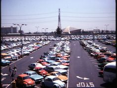 According to the Anaheim Historical Society, this expanse of land including the Disneyland parking lot and the Anaheim Convention Center was once the Rea Ranch. John Rea was a walnut farmer in the late 1800s and his daughters, Kate and Ella Rea, are the namesakes for Katella Avenue. | jholman100