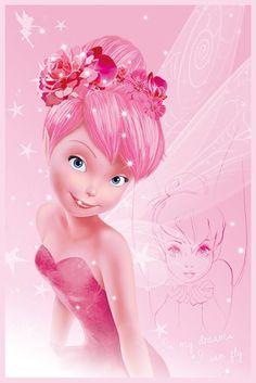 Tinkerbell - Disney Fairies - Tink Pink - Official Poster
