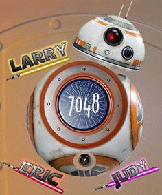 Free BB-8 Download with Custom Cruise Door Magnet - DIGITAL FILES for Cruise Magnet or Clip Art