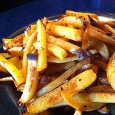 Disguised as crispy fries, kids won't turn up their noses to these turnips. Recipe from Big Oven, found at www.edamam.com