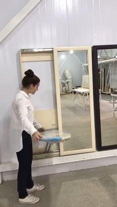Bedroom Closet Design, Home Room Design, Home Interior Design, Laundry Room Storage, Laundry Room Design, Ironing Board Storage, Pull Out Ironing Board, Space Saving Furniture, Home Decor Furniture