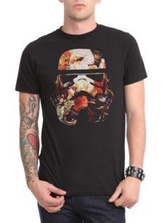 Star Wars Floral Stormtrooper T-Shirt DIY: Into a crop top