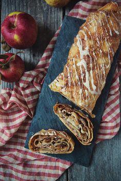 Brandied Apple Strudel Recipe (Apfelstrudel) | FoodforMyFamily.com