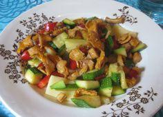 Some chanterelle & vegetables