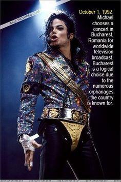 Michael's Charity Work
