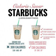 What is your go-to Starbucks order? My is definitely an americano - slightly diluted espresso shots add a little sweetener and almond milk and the bitterness is gone without losing the strength! Low Calorie Starbucks Drinks, Starbucks Secret Menu Drinks, Low Calorie Drinks, Starbucks Calories, Starbucks Protein Drink, Sugar Free Starbucks Drinks, Vegan Starbucks, Starbucks Hacks, Starbucks Recipes