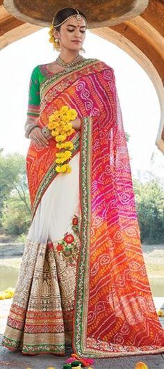 Bandhej, Lehariya & Tie n Dye sarees from Jaipur, Rajasthan