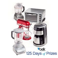 Your fantasy kitchen starts here! Enter now for a chance to win handy kitchen electrics! #belk125