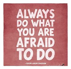 "Tattoo Ideas & Inspiration | Quotes & Sayings | ""Always do what you are afraid to do"" 