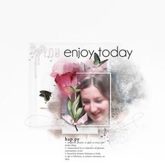 "Kits ""Flower Essence"", ""Fog overlay, ""Edgy overlay , ""Cerella"" by Foxeysquirrel  http://shop.scrapbookgraphics.com/foxeysquirrel/ Wordarts of the kit""Tenderness"" and ""It's your Day"" by Natali Template by Talie"