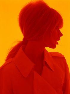 Julia Stegner, photographed by Steven Meisel. -repinned by Los Angeles studio photographer http://LinneaLenkus.com  #photographyideas