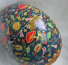 i know its not easter but i really dont think that work so beautiful as that which goes into the making of these pysanky eggs should be rese. Emu Egg, Egg Shell Art, Carved Eggs, Egg Dye, Ukrainian Easter Eggs, Egg Designs, Easter Holidays, Egg Shape, Egg Decorating