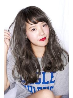 hair salon 6 【ヘアーサロン ロク】 柔らかグレージュ Hair Styles 2016, Medium Hair Styles, Short Hair Styles, Lob Hairstyle, Permed Hairstyles, Good Hair Day, Love Hair, Wavy Hair Perm, Middle Hair