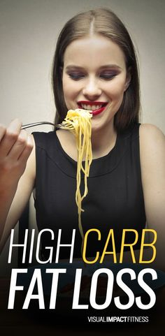 Carb-phobia is a funny thing. Your body rarely converts carbs to body fat. It takes extended EXTREME overfeeding of carbs for this to happen. Almost every bit of fat you see on your body is from the dietary fat in your diet. I'll say it again. Easy Diet Plan, Diet Plans To Lose Weight, How To Lose Weight Fast, Losing Weight, Low Fat Diets, Easy Diets, Fat Burning Drinks, Fat Burning Foods, High Carb Diet