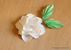 DIY Paper Magnolias DIY Origami DIY Craft